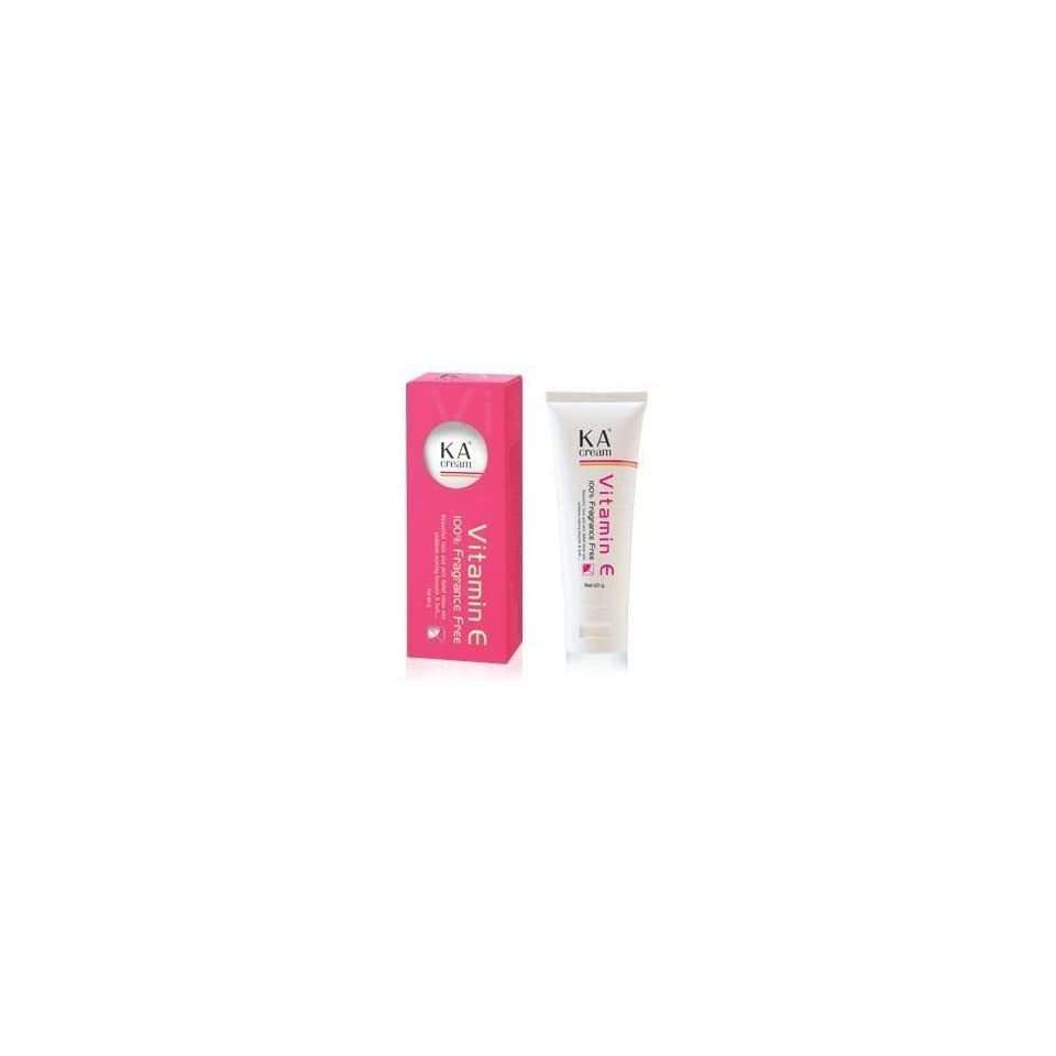 Vitamin E 100% Fragrance Free Scar Blemish Reducer Removal Cream (30g