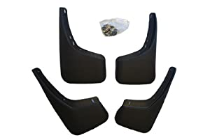 Splash Guard Mud Flaps Custom Fit Toyota Camry Sedan 07 08 09 10 11 (Does NOT fit the SE models)