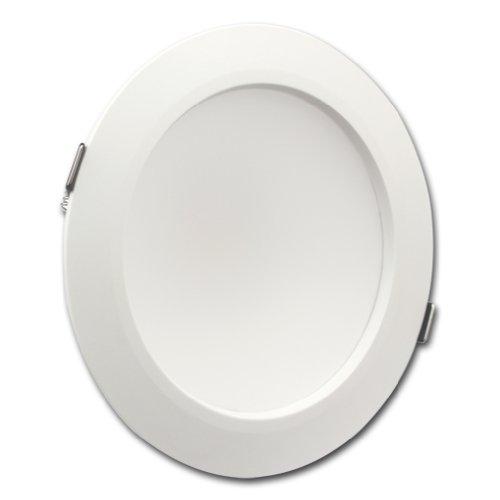"Goodia Led Recessed Lighting Downlight. White. 6-2/5"". 10 Watt. Replace 70Watt Incandescent Bulb. Cool White"