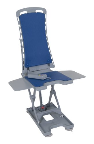 Drive Medical Blue Whisper Ultra Quiet Bathtub Lift, Grey