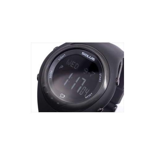 [ソーラス]SOLUS 心拍計測機能付き デジタル 腕時計 01-300-007 [並行輸入品]