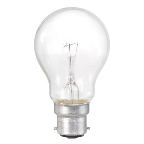 10 Pack 60w Bc B22 Clear Classic A Gls Light Bulbs Bayonet Cap Incandescent Lamps 700 Lumen
