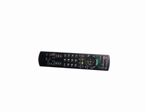 Universal Remote Replacement Control Fit For Panasonic Tc-L47Wt50X Tc-P50Gt50 Smart 3D Vieraplasma Lcd Led Hdtv Tv