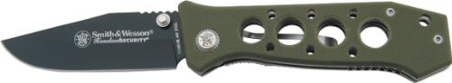 Smith & Wesson CK7H Homeland Security Knife, Green