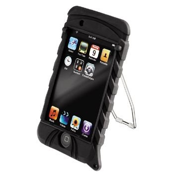 Hama MP3-Tasche &quot;SportCase&quot; f&#252;r iPod touch/touch 2G, Schwarz