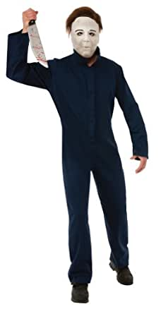 Rubie's Costume Grand Heritage Halloween Michael Myers Deluxe, Black, Standard Costume