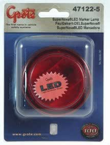 """Grote 47122-5 SuperNova 2.5"""" Red Clearance and Marker LED Lamp"""