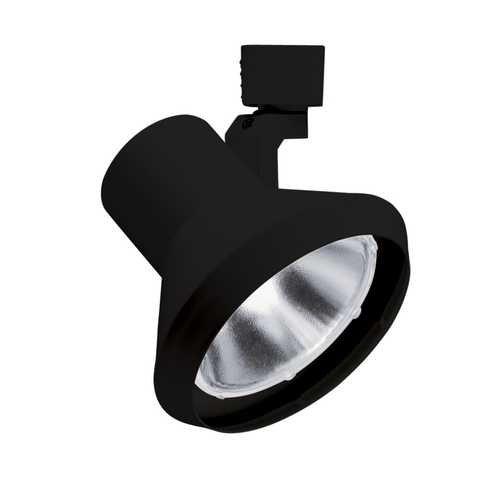 Juno Lighting R552Bl Trac-Lites Flared Steps Line Voltage 75W Par30 Lamp Holder, Black