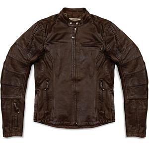 Roland Sands Design Women's Maven Leather Jacket - X-Large/Tobacco