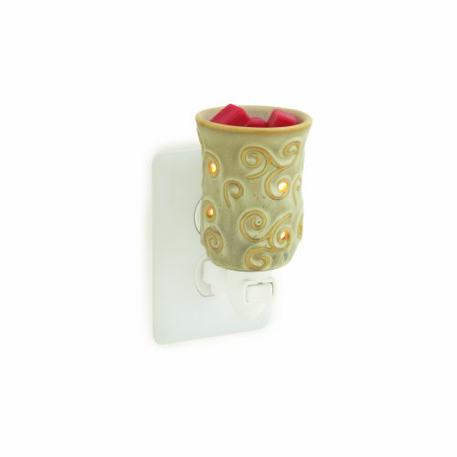 Candle Warmers Etc. Plug-in Fragrance Warmer, Sand