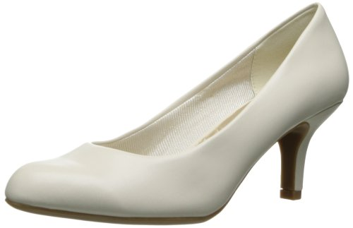 Easy Street Women'S Passion Dress Pump,Bone,6.5 W Us front-756808