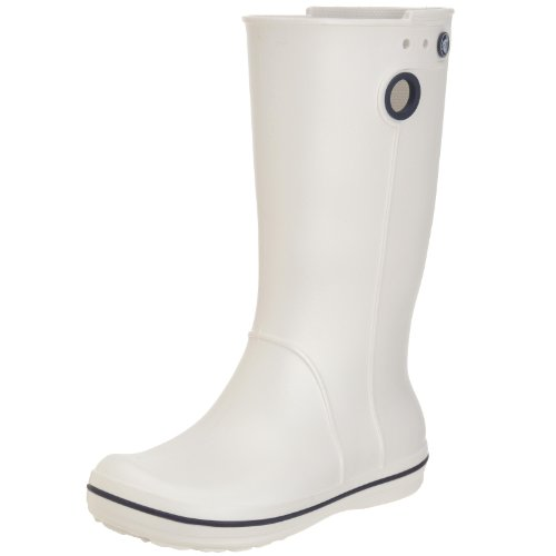 Crocs Women's Crocband Jaunt Oyster Wellingtons Boots 10970-159-420 4 UK