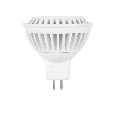 Globe Electric 01807 6.5-Watt Led For Life Mr16 Dimmable Soft White, High Performance Led Gu 5.3 Bi Pin Base Light Bulb, 25-Watt Equivalent