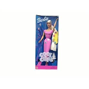 Amazon com cool clips barbie barbie doll doll figure parallel