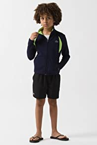 Boy's Full Zip Double Face Track Jacket