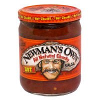 mans Own Salsa Hot 16 Oz Pack Of 12 by Newman's Own, Inc.