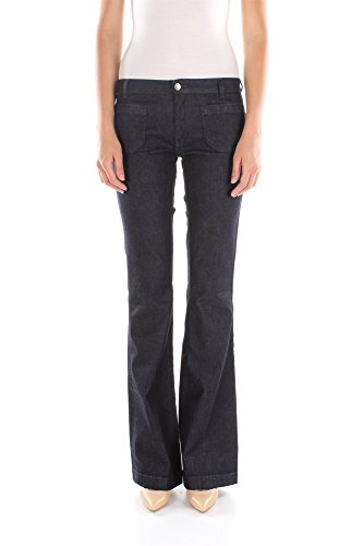 Jeans Twin-Set Donna Cotone Blu Denim P2S5WJ00100 Blu 25