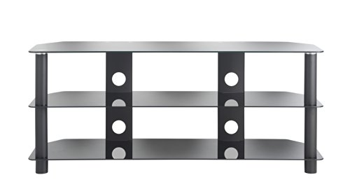 Buying Guide of  VonHaus Plasma/LED/LCD/3D Glass TV Stand upto 50″ or 40Kgs