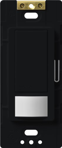 Lutron Ms-Vps2-Mn Maestro 250-Watt Single Pole Vacancy Sensor Switch, Midnight, 1-Pack