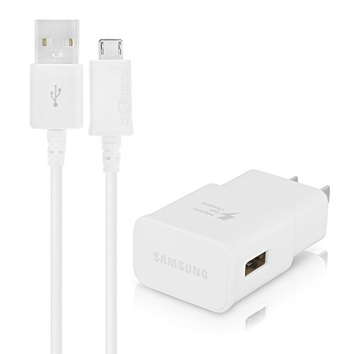 Samsung EP-TA20JWEUSTA Adaptive Fast Home Charger White - Retail Packaging (Samsung Micro Usb Plug compare prices)