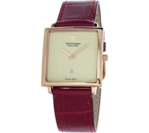 Steinhausen Women's LW516RGRA Artiste Analog Display Swiss Quartz Red Watch