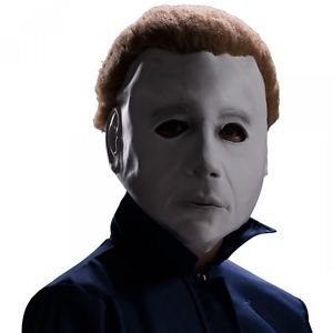 Michael Myers Mask with Hair Costume Accessory Kids Kids & Tween Boys Halloween (Cute Clown Costumes For Tweens)