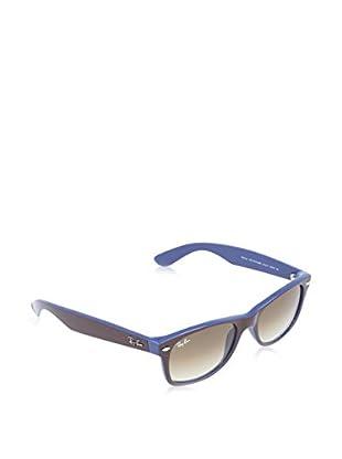 Ray-Ban Gafas de Sol New Wayfarer 2132 874 (52 mm) Marrón / Azul