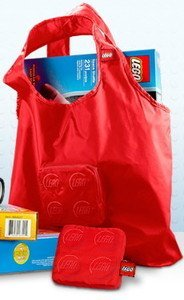 LEGO Tote Bag (Red) - 1