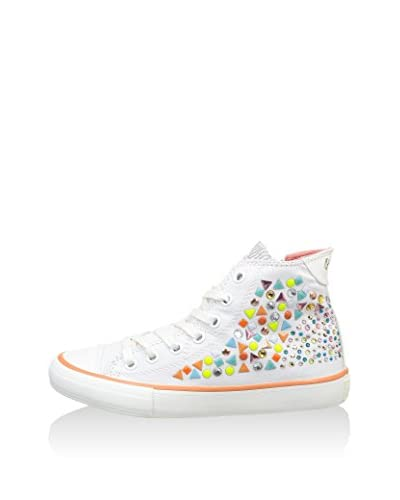 Pepe Jeans Sneaker Alta Industry Fantasy [Bianco]