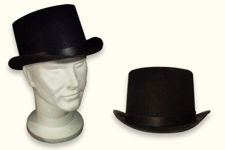 Jacobson Black Top Hat