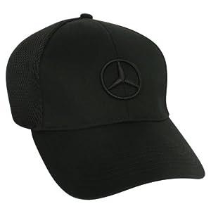 Genuine Mercedes Benz Black Mesh Cap from Mercedes