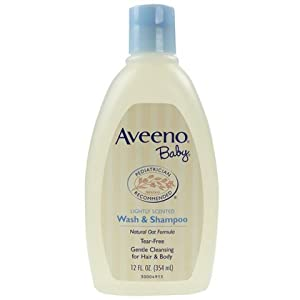 Aveeno baby body wash and shampoo coupons
