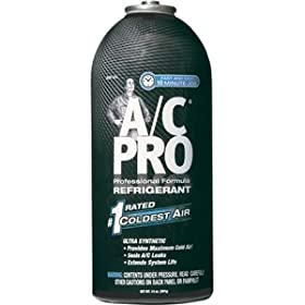 Interdynamics (ACP-101) PRO Professional Formula R-134a Ultra Synthetic Air Conditioning Refrigerant Refill - 14 oz.