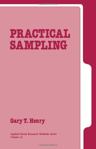 Practical Sampling (Applied Social Research Methods)