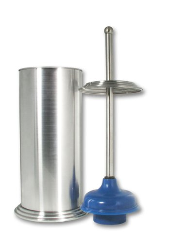 LDR 164 6460BN Ashton Plunger and Canister, Brush Nickel Finish