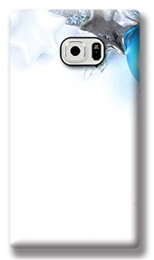 buy Christmas S6 Active Case, Xmas Stuff For Blue Christmas Ornament Designed Case For Samsung Galaxy S6 Active, Coolest Hard Samsung S6 Active Protective Case