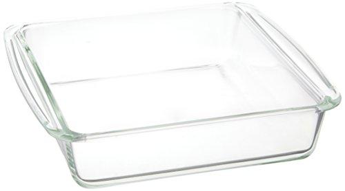 iwaki ベーシックシリーズ ケーキ焼き皿 角型 KBT222