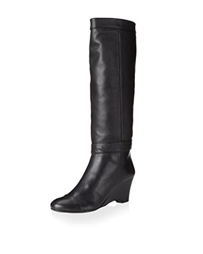 Rosegold Women's Paige Wedge Boot  [Black]