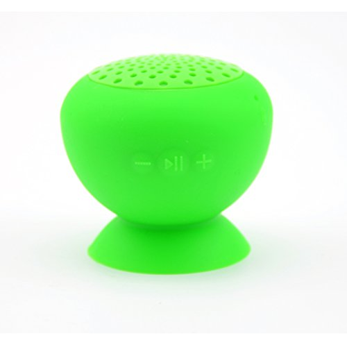 Granvela Miniq Portable Bluetooth Speaker - Great Sound, Water Resistant With Built-In Microphone (Green)