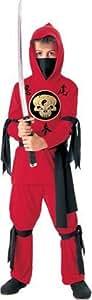 Halloween Concepts Child's Red Ninja Costume, Small