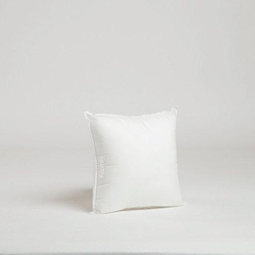 Best Price 12 x 12 Premium Hypoallergenic Stuffer Pillow Insert Sham Square Form Polyester, Standard...