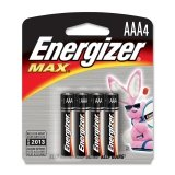 Aaa Alkaline Battery Retail Pack - 4-Pack front-470923