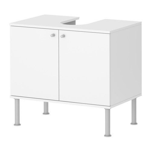 ikea waschbeckenunterschrank fullen waschbeckenschrank zweit rig in 60x35x55cm bxtxh weiss. Black Bedroom Furniture Sets. Home Design Ideas