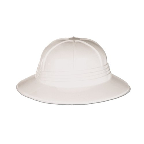 Plastic Sun Helmet Party Accessory (1 count) - 1