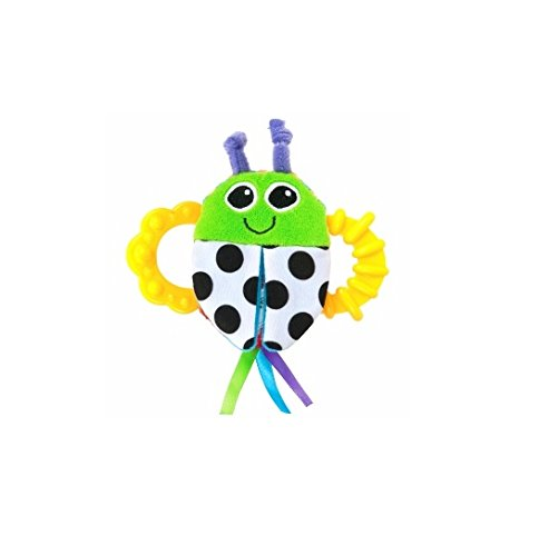 Lamaze Bitty Bite Bug Rattle 1 ea (pack of 2)