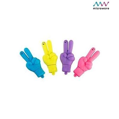 Microware 16 GB Hand ShMicroware Cheering Hand Designer Pendrive