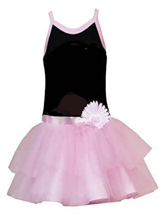 Amazon.com: Rare Edition Big Girls' Black To Pink Tutu, Black/ Pink, 7