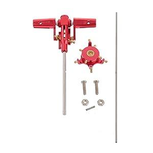 Neewer® CNC Aluminum Metal Head Upgrade RC for Walkear 4G3 4G6 Novus CP HM-4G3-35-36-37-38-Assembled Red