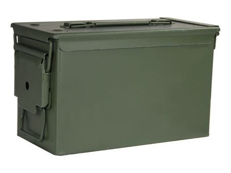 ATK 970032 50 Cal Ammo Cans, Green Finish (Ammo Boxes Metal compare prices)