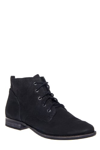 Sam Edelman Mare Low Heel Lace Up Bootie